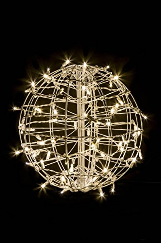 Outdoor Lighted Balls For Trees - 2