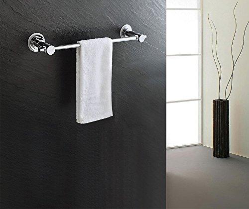 BOPai-24-inch-Vacuum-Suction-Cup-Towel-BarRemoveable-Shower-Mat-Rod-Shower-Door-Adhesive-Towel-Bar-Suction-Towel-RackPremium-Chrome