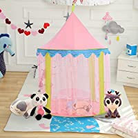Ejoyous Princess Castle Play Tent for Girls Indoor and Outdoor