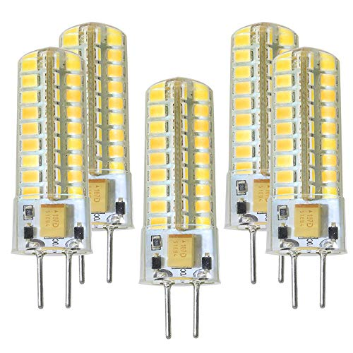 Bi-pin Base AC/DC 12V. Halogen Bulb Replacement 50W. Non-Dimmable Warm White 3000K (Pack of 5) Please Look at The Description firstly and Then Purchase. ()