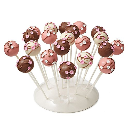 Cake Pop Platter Pops the Treat Display Treats Cake Bites Preparation Stand and Presentation Platter, dinnerware set, christmas gift for home, oprah designer, must have for holidays, housewarming gift -