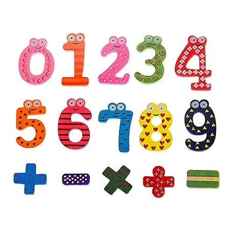 Ymwave 53Pcs Imanes para Refrigerador Letras números y Animados ...