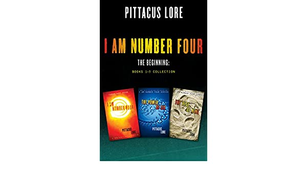 Amazon I Am Number Four The Beginning Books 1 3 Collection I