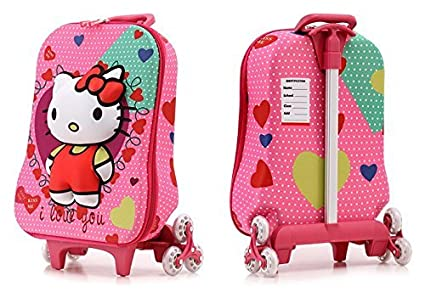 Image Unavailable. Image not available for. Colour  Hello Kitty Travel  School Bag ... aa3af8cdd2
