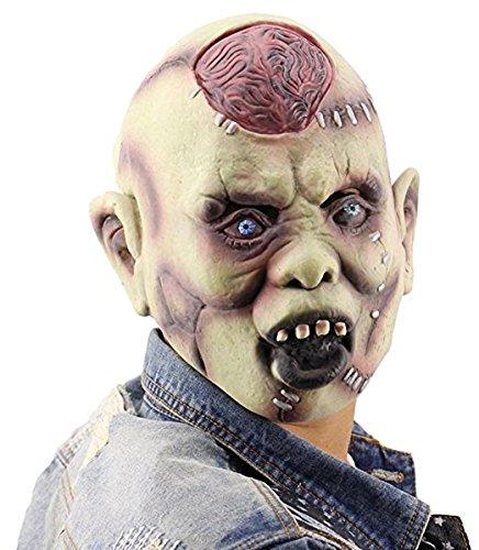SZG Halloween Exposed Brain Zombie -