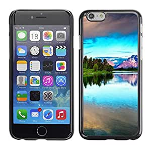 Cubierta de la caja de protección la piel dura para el Apple iPhone 6 (4.7) - Hapy Smiley Area