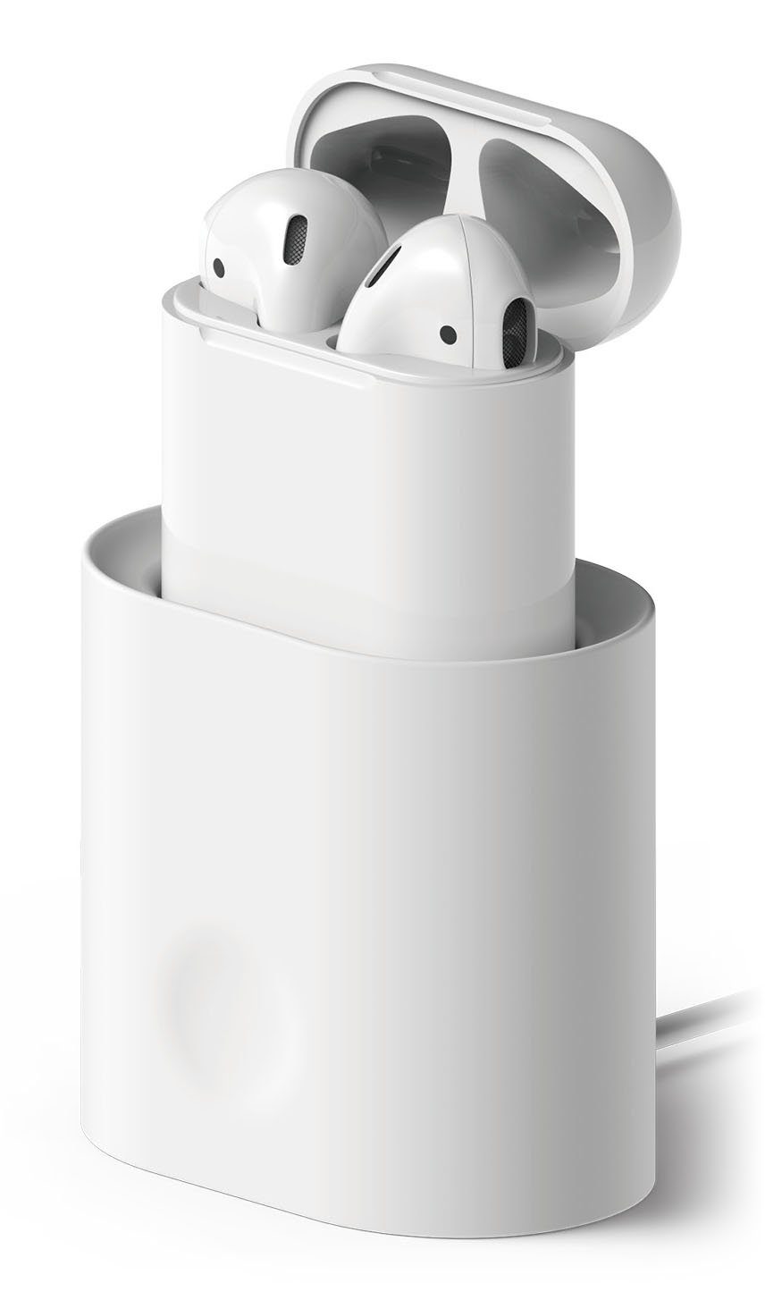 elago AirPods Stand [White] - [Compatible with Apple AirPods