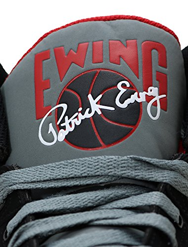 Ewing Hi 33 Nero Grigio Rosso Nero Grigio