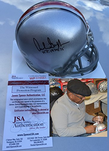 Archie Griffin Signed / Autographed Ohio State Buckeyes Mini Helmet - JSA