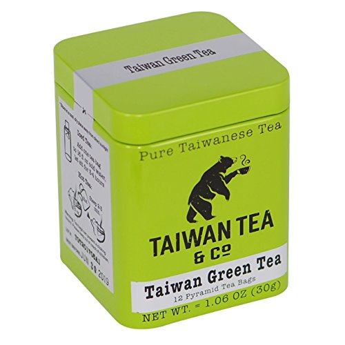 Taiwan Green Tea 12 Pyramid Tea Bags Organic Premium Tea Review