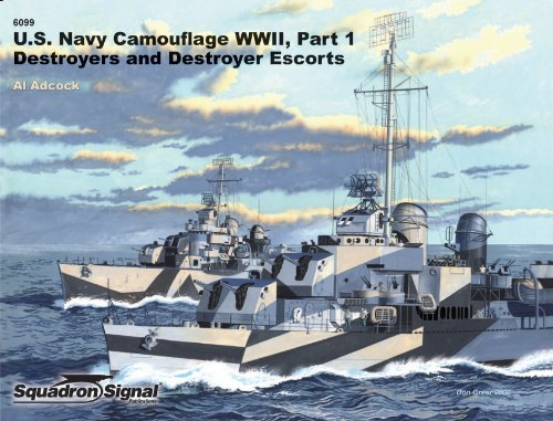 Wwii Destroyer (1: US Navy Ships Camouflage WWII: Destroyers and Destroyer Escorts - Specials series (6099))