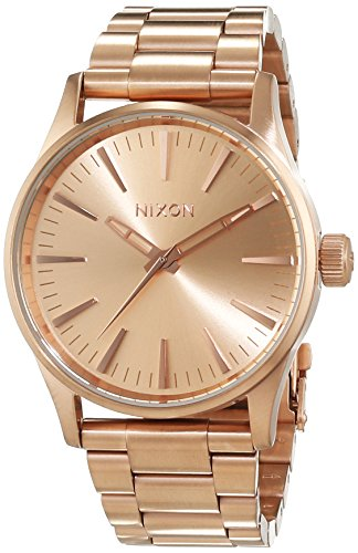 Nixon Sentry 38 SS Watch All Rose Gold A450