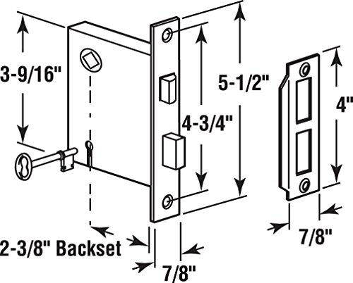 Buy vintage pocket door hardware