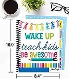 Schoolgirl Style Academic Teacher Planner - Undated