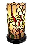 Amora Lighting AM091ACC Tiffany Style Dragonfly Mini Table Lamp - 10