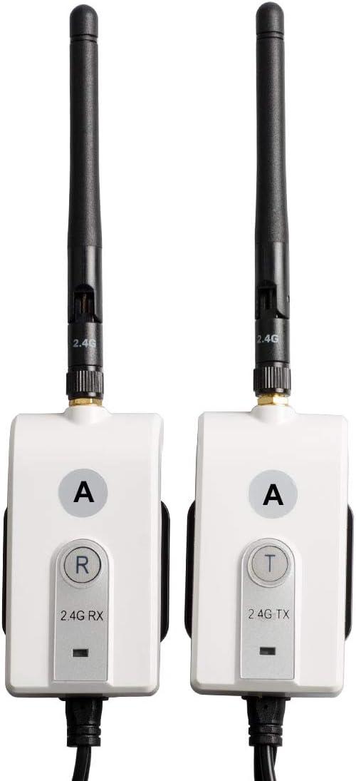Sumicline A623 - Kit de transmisor y Receptor de vídeo inalámbrico (12 V)