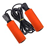 DRAGON SONIC Adjustable Skipping Rope,Sports Game Fitness Skipping Rope,D8