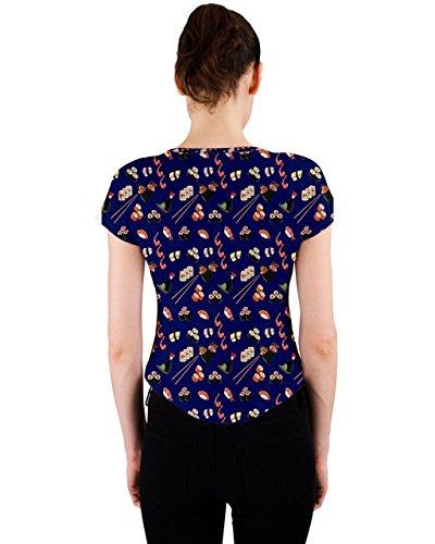 CowCow - Camiseta sin mangas - para mujer azul marino