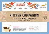 The Kitchen Companion Page-A-Week Calendar 2021