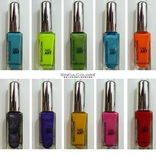 sinful-colors-nail-art-enamel-polish-pack-of-6-different-colors-of-25-ounce-bottle