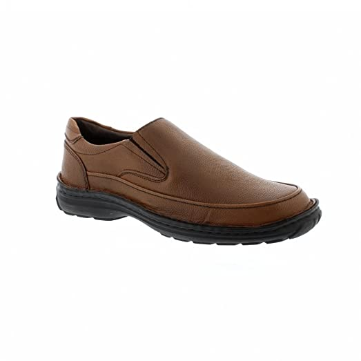 Ingleton - Brown Leather Mens Shoes