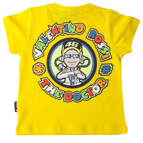 Official Valentino Rossi Child's The Doctor 46 T-shirt Kids