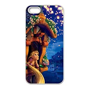 Customize Cartoon Tangled Princess Back Case Fits for iphone 5 5S JN5S-2370