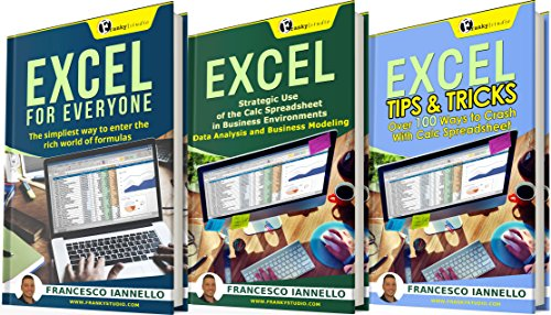 Pdf Computers EXCEL: The Bible Excel - 3 Manuscripts + 2 BONUS BOOKS - Excel for Everyone, Data Analysis & Business Modeling, Tips & Tricks (Functions and Formulas, Macros, Excel 2016, Shortcuts, Microsoft Office)