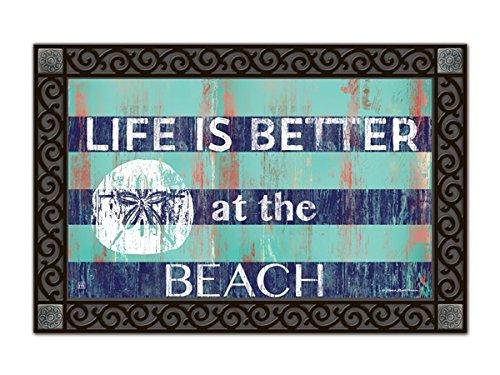 Stripes-and-Sand-Dollar-MatMates-Doormat-11357D