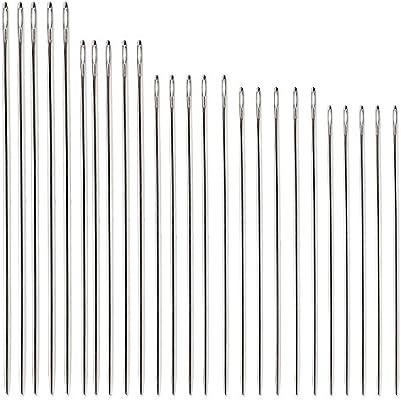Pack de 20 pines de cuero para coser para coser cuero y ropa, 4 tamaños: Amazon.es: Hogar