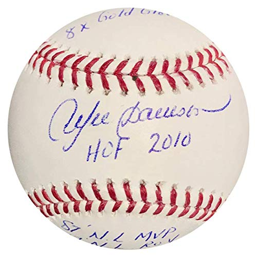 Andre Dawson Multi Stat Autographed Official Major League Baseball ()