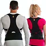 Agon Posture Corrector Support Back Brace - Relieves Neck, Back and Spine Pain - Improves Posture Clavicle Brace (S/M)