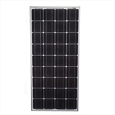 100 Watts 100W Solar Panel 12V Mono Off Grid Battery Charger for RV - Mighty Max Battery brand product