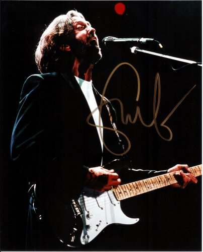 Eric Clapton Signed Autographed 8 X 10 Reprint Photo - (Mint Condition) from Nostalgic Cards & Autographs
