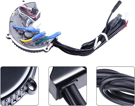 HUIHUAN Controlador de Motor de Bicicleta eléctrica 48V 750W, Kit ...
