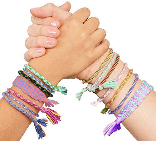 ebf7d7c8ae1ef Kangaroo's Girls Toys; Make Your Own Friendship Bracelets; Friendship  Bracelet Maker
