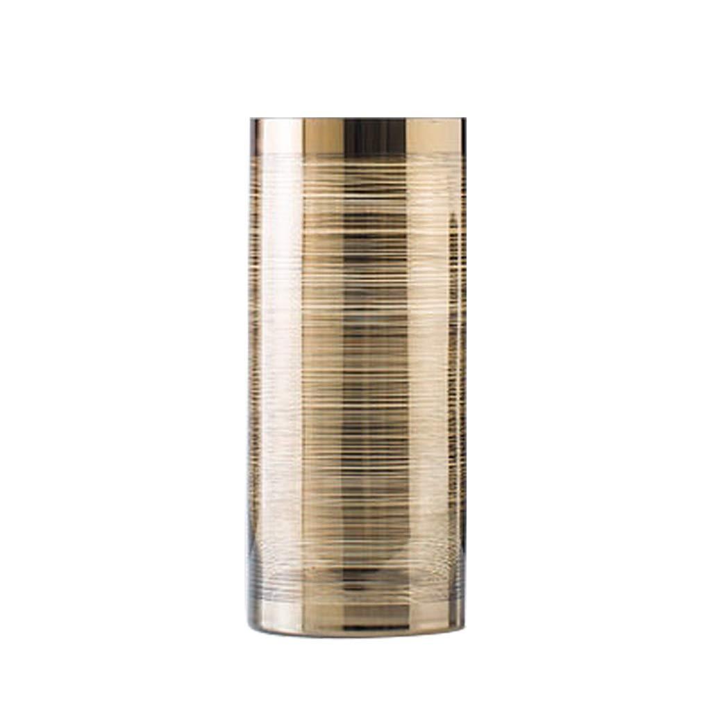 MAHONGQING シンプルなモダン花瓶装飾リビングルームの寝室のフラワーアレンジメントガラス花瓶家の装飾家具 B07T13GYXW