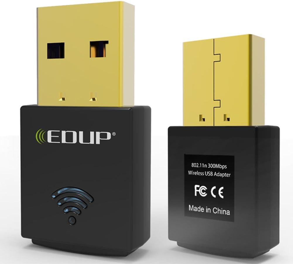 WISETIGER EP-N1557 Wireless Usb Nano Adaptateur Mini Carte r/éseau 300 Mbps