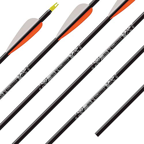 "Easton Bloodline FOC 6mm 330 Arrows Factory Fletched w// 2/"" Blazer Vanes 6 Pack"