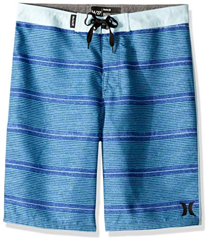 Suit Bathing Boys - Hurley Boys' Big Board Shorts, Deep Royal Blue Shoreline 10
