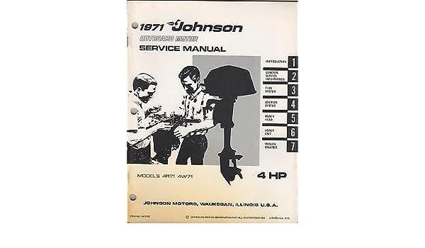 Motors Boat & Watercraft Repair Manuals & Literature Johnson ...