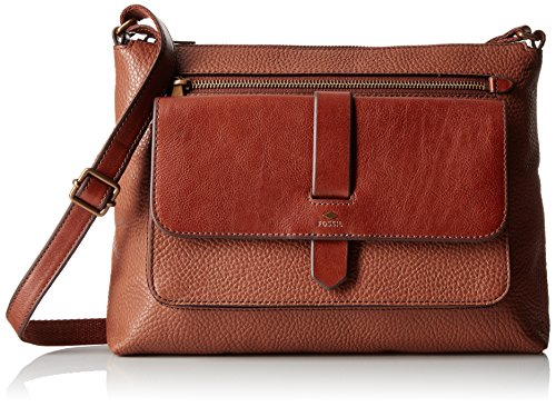 Fossil Kinley Crossbody, Brown, One Size by Fossil
