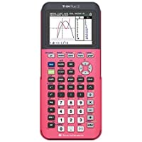 Texas Instruments TI-84 Plus CE Graphing Calculator, Coral by Texas Instruments