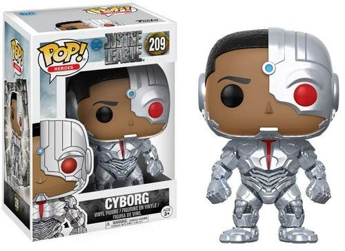 Funko POP! Movies: DC Justice League – Cyborg Toy Figure -