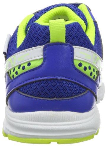 Naturino SPORT 416. 0012007798019102 - Zapatillas de tenis de cuero para unisex-adulto, color turquesa, talla 27 Turquesa (Türkis (Azzurro 9102))