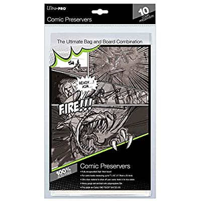 Ultra Pro Gaming Generic Comic Preserver 10 PackComic Preserver 10 Pack, Multi, One Size: Sports & Outdoors
