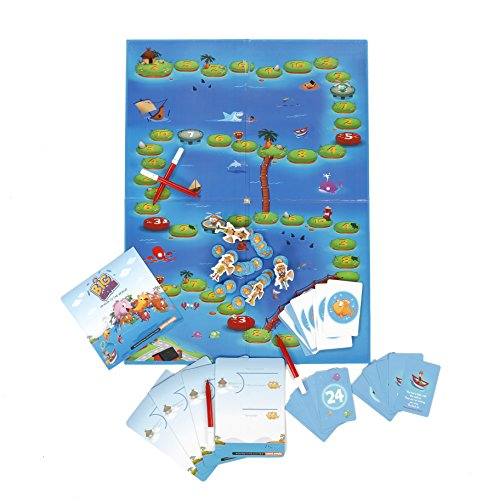 Amazon.com: BIG CATCH division (advanced) board game STEM toy Math ...