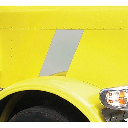 United Pacific 29027 Stainless Hood Emblem Stripe Accent (Peterbilt 388)