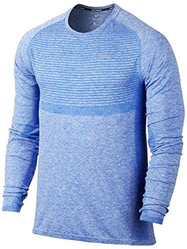 Nike Men's Dri-FIT Knit LS Top LG Game (Knit Nike Dri Fit)