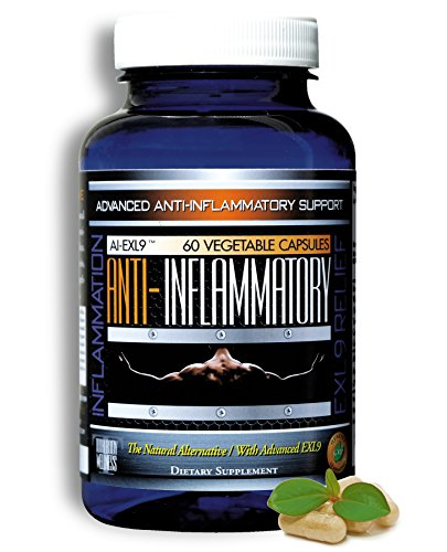 Natural Anti-Inflammatory Advanced Pain Relief For Joints, Swelling and Stiffness with Turmeric, Curcumin, Enzymes and Boswellia. Vegetarian, Gluten Free - The Natural Alternative and made in the USA!